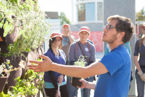 "Science World Interpretive Garden Build: ""How Does Your Garden"